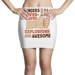 explosions are awesome! funny Mini Skirts | Artistshot
