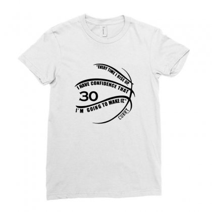 Curry Sc Ladies Fitted T-shirt Designed By Sari