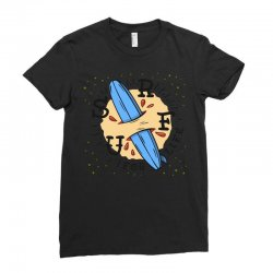surf for life Ladies Fitted T-Shirt | Artistshot