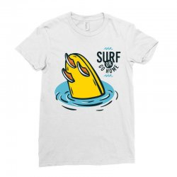 surf or go gome Ladies Fitted T-Shirt | Artistshot