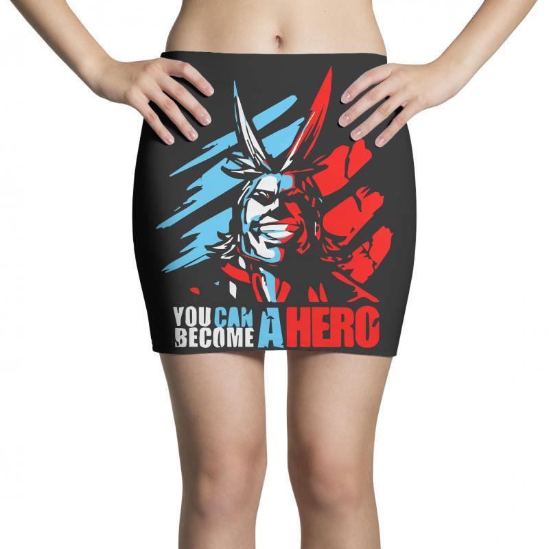 New My Hero Academia All Might Plus Ultra Anime Midoriya Mini Skirts   Artistshot