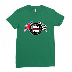 norton motorcycles logo Ladies Fitted T-Shirt | Artistshot