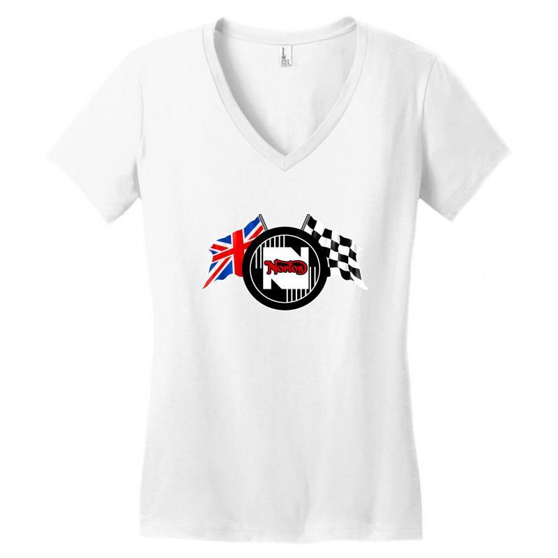 Norton Motorcycles Logo Women's V-neck T-shirt | Artistshot