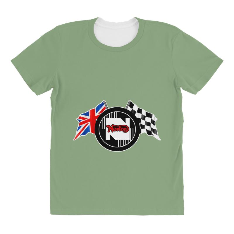 Norton Motorcycles Logo All Over Women's T-shirt | Artistshot