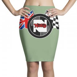 norton motorcycles logo Pencil Skirts | Artistshot