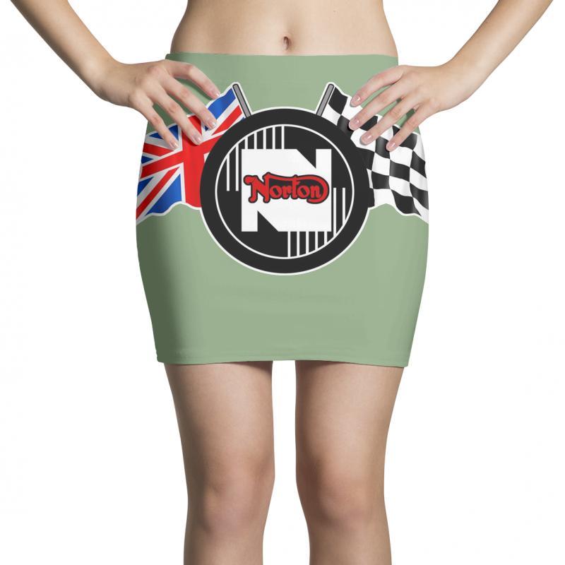 Norton Motorcycles Logo Mini Skirts | Artistshot