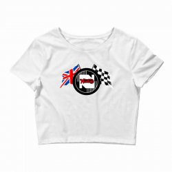 norton motorcycles logo Crop Top | Artistshot