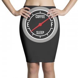 fill up on coffee! funny Pencil Skirts | Artistshot