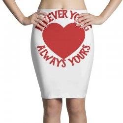 forever young always yours Pencil Skirts | Artistshot