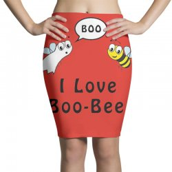 boo bees halloween Pencil Skirts | Artistshot