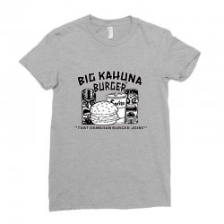 big kahuna burger Ladies Fitted T-Shirt | Artistshot