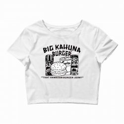 big kahuna burger Crop Top | Artistshot