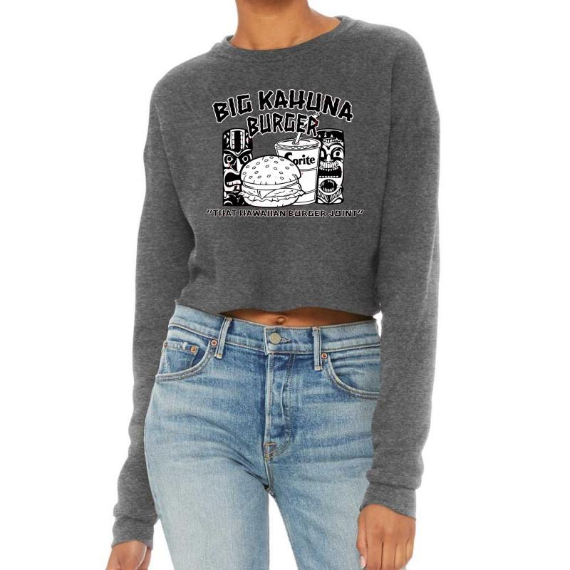 Big Kahuna Burger Cropped Sweater | Artistshot