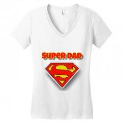 Super Dad Women's V-Neck T-Shirt | Artistshot
