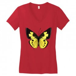 Beautiful butterfly Women's V-Neck T-Shirt   Artistshot