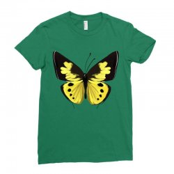 Beautiful butterfly Ladies Fitted T-Shirt   Artistshot