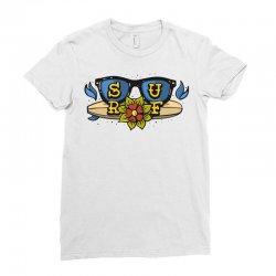 surf surfig style Ladies Fitted T-Shirt | Artistshot