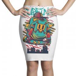 surfing city Pencil Skirts   Artistshot