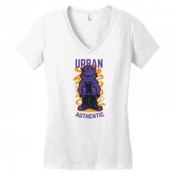 swag cat Women's V-Neck T-Shirt | Artistshot