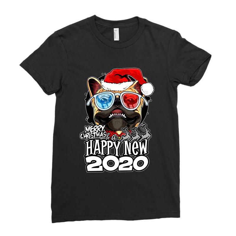 Happy New 2020 Ladies Fitted T-shirt   Artistshot