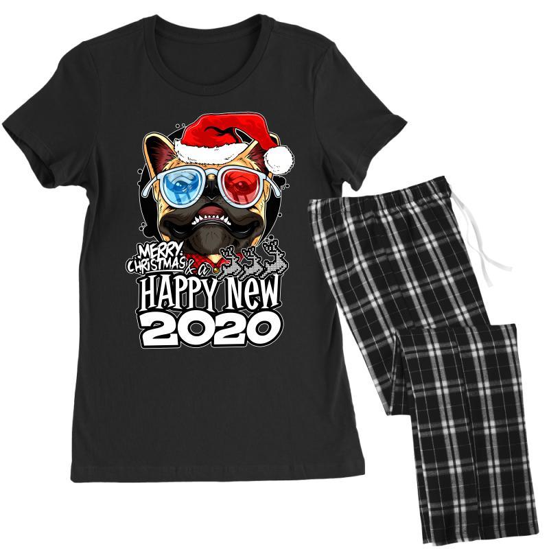 Happy New 2020 Women's Pajamas Set   Artistshot