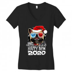 Happy new 2020 Women's V-Neck T-Shirt | Artistshot