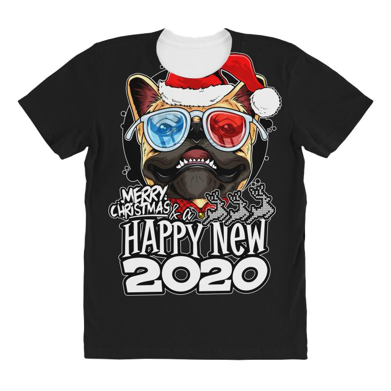 Happy New 2020 All Over Women's T-shirt | Artistshot
