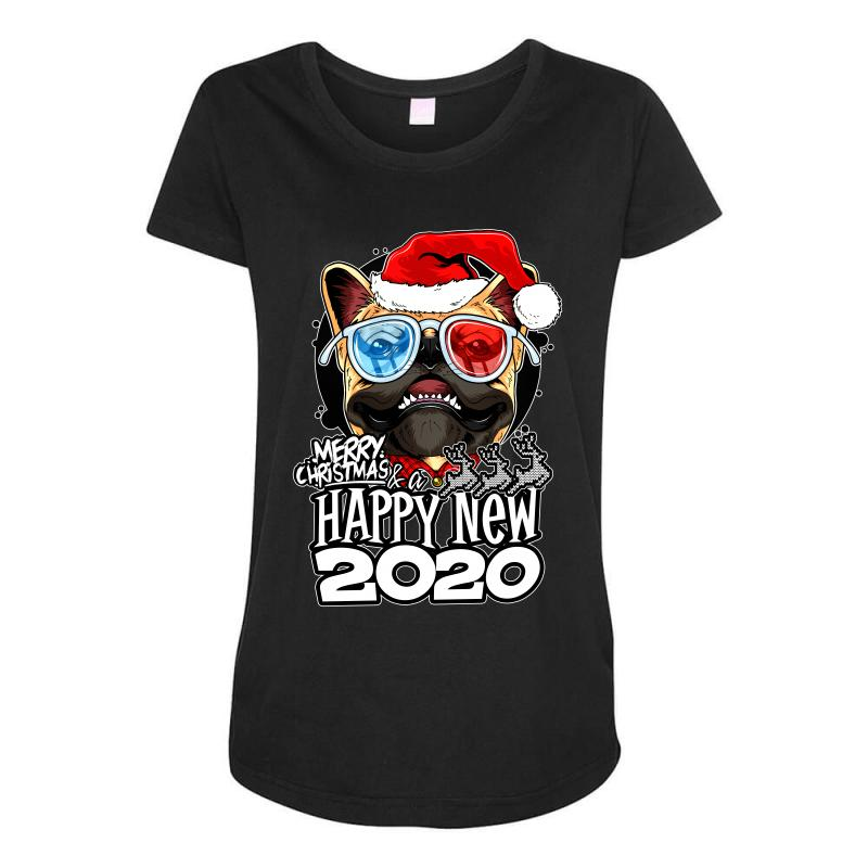 Happy New 2020 Maternity Scoop Neck T-shirt | Artistshot