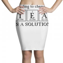 t e a is a solution Pencil Skirts | Artistshot