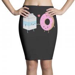 donuts and milk Pencil Skirts | Artistshot