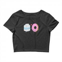 donuts and milk Crop Top | Artistshot