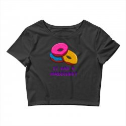 donuts Crop Top   Artistshot