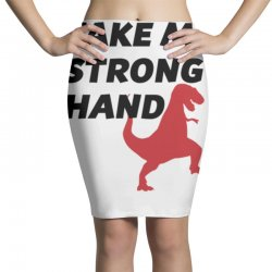 take my strong hand Pencil Skirts   Artistshot