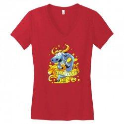 taurus Women's V-Neck T-Shirt | Artistshot