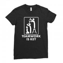 teamwork Ladies Fitted T-Shirt | Artistshot