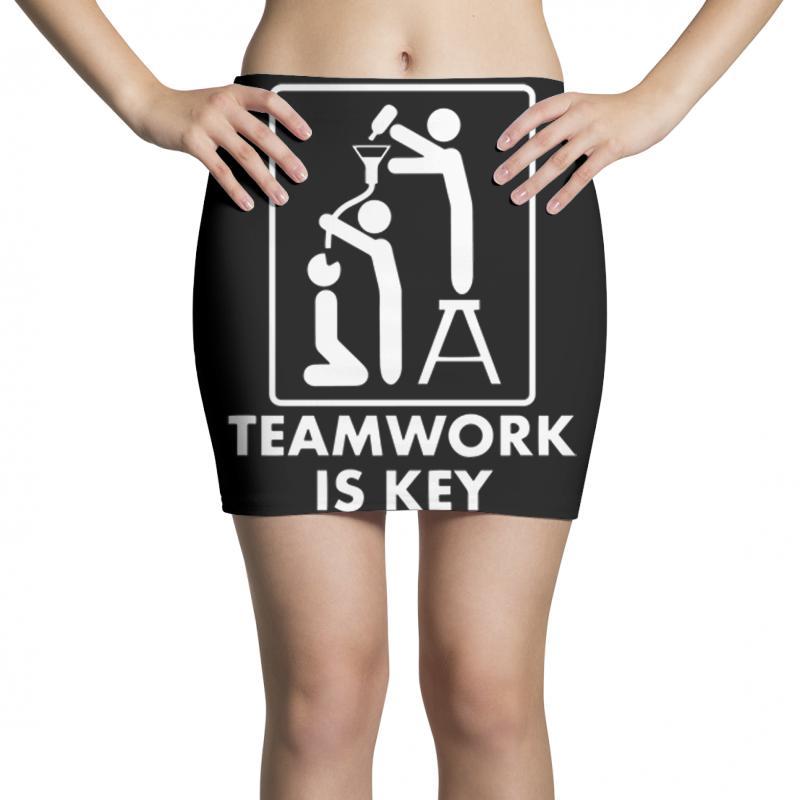 Teamwork Mini Skirts | Artistshot