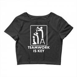teamwork Crop Top | Artistshot