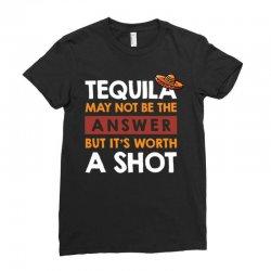 tequila shots Ladies Fitted T-Shirt | Artistshot