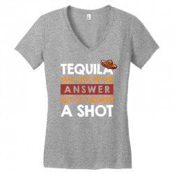 tequila shots Women's V-Neck T-Shirt | Artistshot