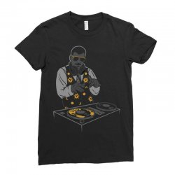droppin' science Ladies Fitted T-Shirt | Artistshot