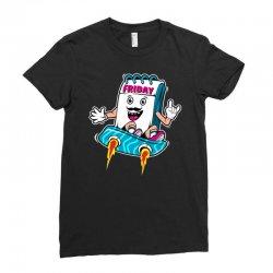 tgif boy Ladies Fitted T-Shirt | Artistshot