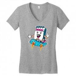 tgif boy Women's V-Neck T-Shirt | Artistshot