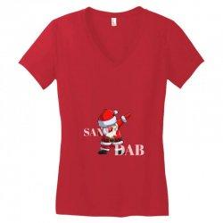 Party Santa Women's V-Neck T-Shirt | Artistshot
