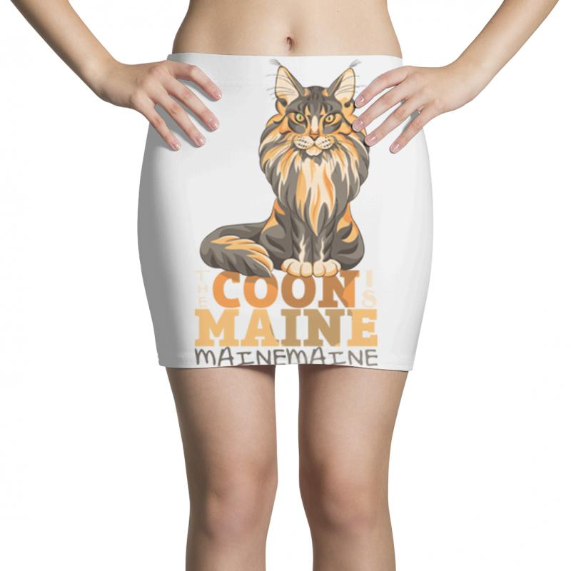 The Coon Is Maine Mini Skirts | Artistshot