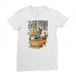 the happy combi family Ladies Fitted T-Shirt | Artistshot