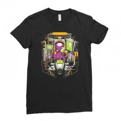 the pilot Ladies Fitted T-Shirt | Artistshot