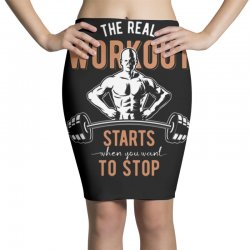 the real workout Pencil Skirts | Artistshot