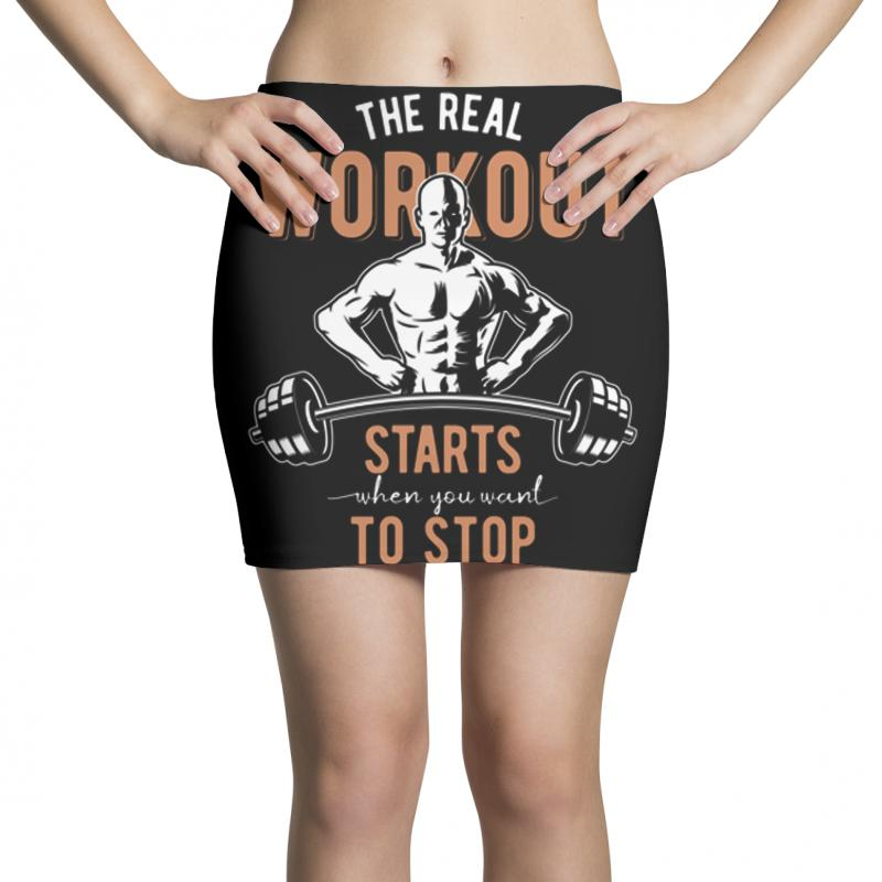 The Real Workout Mini Skirts | Artistshot