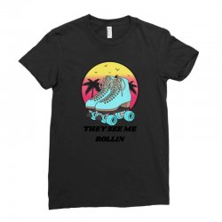 they see me rollin Ladies Fitted T-Shirt | Artistshot