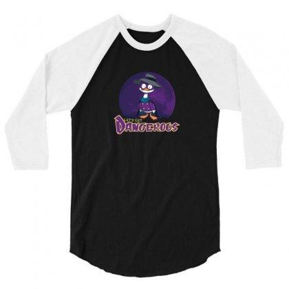 Duck! 3/4 Sleeve Shirt Designed By B4en1